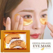 5% 2F10 пары глаза маска патч золото глубокий питание водоросли кристалл коллаген против морщин анти старение удаление темные круги глаза уход