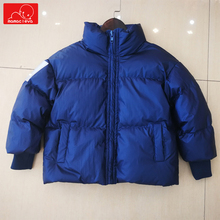 winter kids warm coat boys girls fashion jacket children overcoat child clothing solid color outerwear
