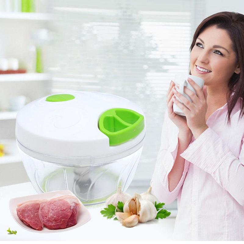 Manual Meat Grinder Chopper Garlic Cutter Safety And Non-toxicity Food Slicer Durable Portable Kitchen Gadgets Accessories