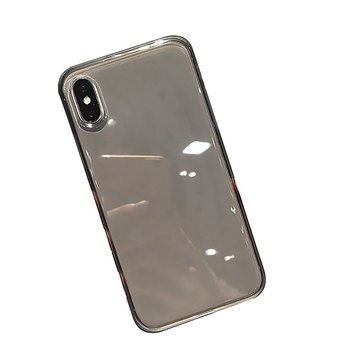 TPU transparent case for iPhone XS Max case XR X 8 6s 6 Plus 7plus 8Plus luxury shockproof combination case image