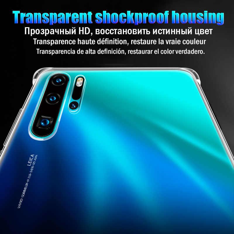 Darbeye dayanıklı durumda Huawei P30 P20 P10 Lite Mate 10 20 30 P akıllı Y5 Y6 Y7 Pro Y9 başbakan 2019 Nova 3 3i onur 8X9X20 Pro kapak