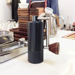 Timemore kestane Nano kahve değirmeni katlanabilir alüminyum taşınabilir çelik taşlama çekirdekli süper manuel kahve değirmeni dubleks rulman