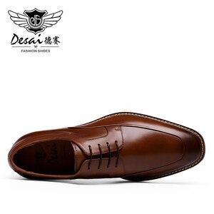 Image 5 - DESAI High Ankle Leader Wedding Men Men's' Casual Shoes Genuine Leather Sneaker 2019
