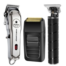 Kemei Electric Hair Clipper Rechargeable Hair Trimm