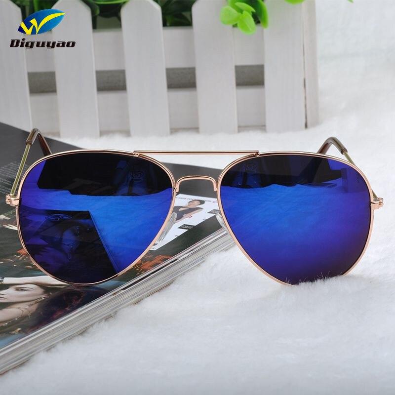 Gafas de sol feminino 2020 Gafas de Metal aviaciones azul Anti-reflectante retro mujeres gafas de sol sonnenbrille herren Siskakia-vestido informal de talla grande, veraniego 2020, para mujer, cuello redondo, volantes, manga corta, Midi, vestidos de remiendos verde con dobladillo