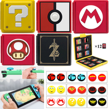 Case Switch Game-Card Nintendoswitch-Accessories Analog-Covers for Nitendo Storage-Box