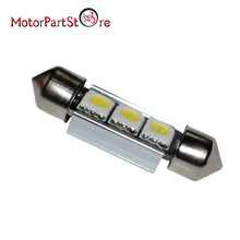 Лидер продаж 12В Супер яркий белый светильник лампа 1 X Feston 36mm 3W 3-SMD 5050 светодиодный CANBUS светодиодный гирлянда светильник s постоянного тока