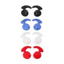 4 pares de silicone earbud eartip para samsung s6 nível u EO-BG920 fone ouvido bluetooth x6ha