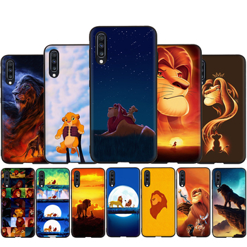 The Lion King soft silicone phone case for Samsung Galaxy A3 A5 A6 Plus A7 A8