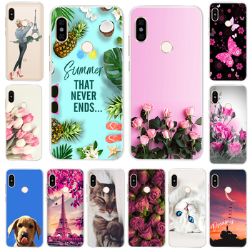 Silicone Case For Xiaomi Redmi Note 5 Pro Case Cover Soft TPU For Redmi Note 5 Global Version 5.99 inch Hongmi Note5 Pro Case image