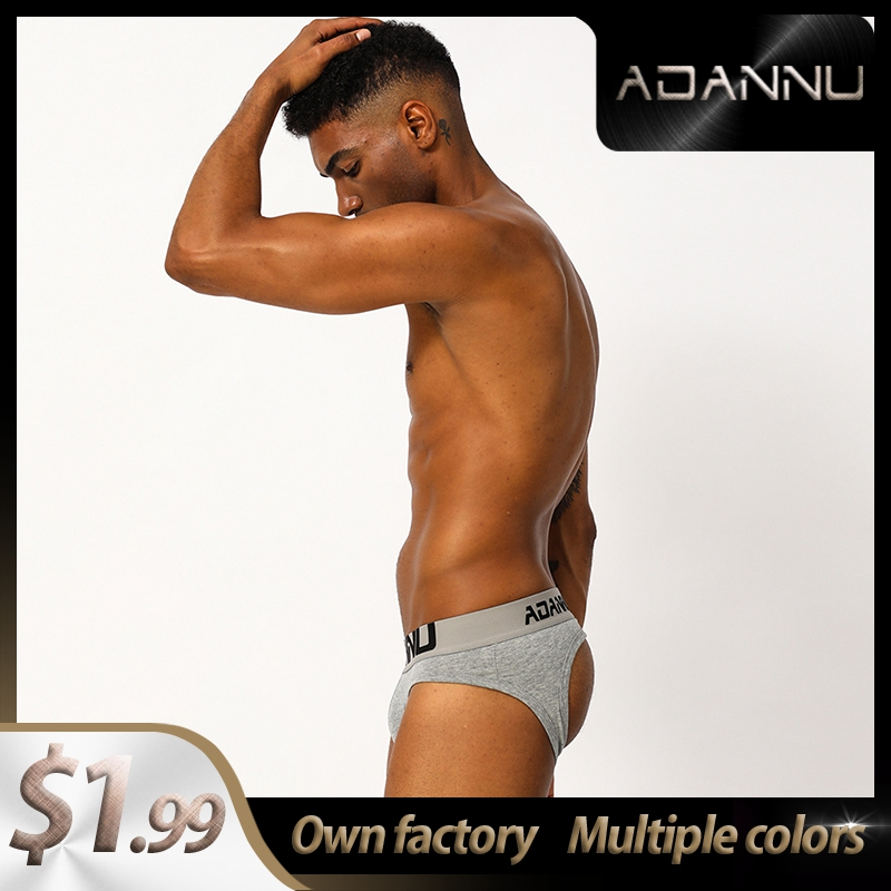 Free Shipping Letter Cotton Soft CMENIN Gay Men Sexy Underwear Thong Men Jockstrap Men's Lingerie Mens Thongs And G Strings