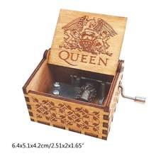 Музыкальная шкатулка ручной работы с гравировкой Коробка персональный