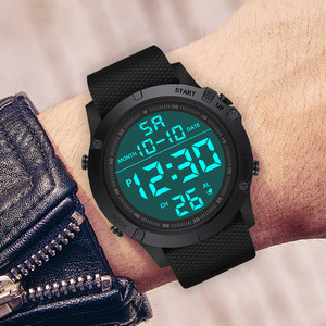 часы мужские Luxury Men Watch Analog Digital Military Army Sports Watches Male LED Waterproof Wristwatch Montre pour enfants