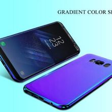 50pcs/lot Aurora Blue Ray Phone Case For Samsung Galaxy S9 S