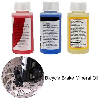60ml DOT General Oil Bicycle Brake Mineral Oil Fluid Hydraulic Disc Brake Lubricant For Shimano Magura Tektro Mountain Bikes image
