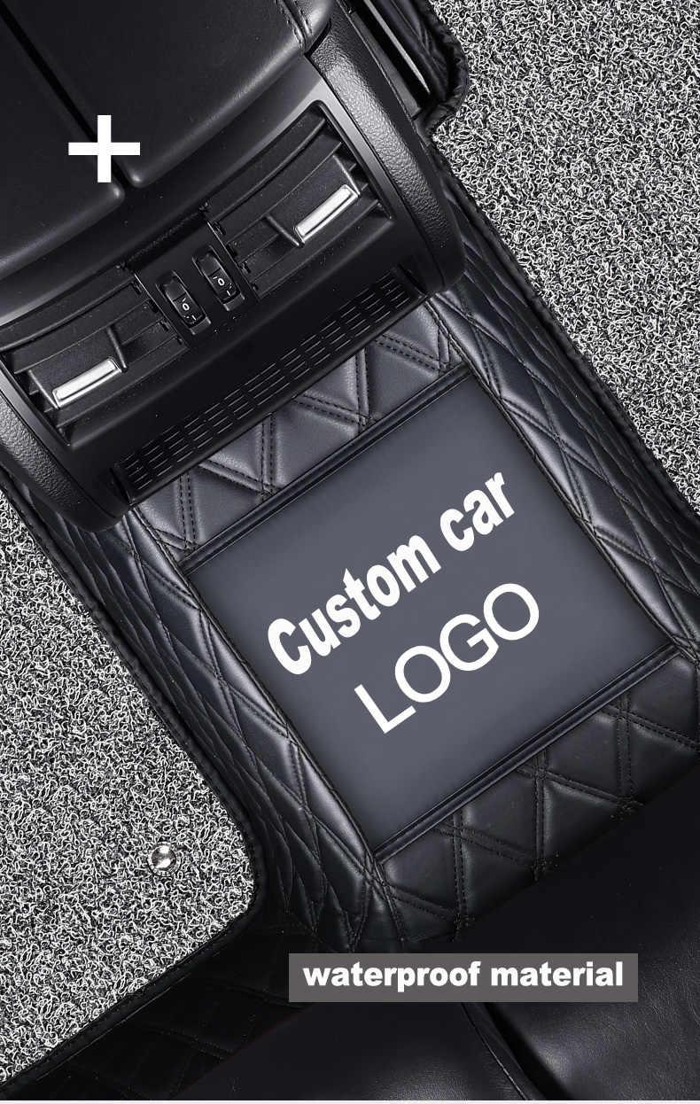 Carfunny Tay Phải Ổ Chống Nước Tô Thảm Cho Xe Hyundai Accent MERCEDES S500 Land Cruiser Prado 150 Thảm Lót