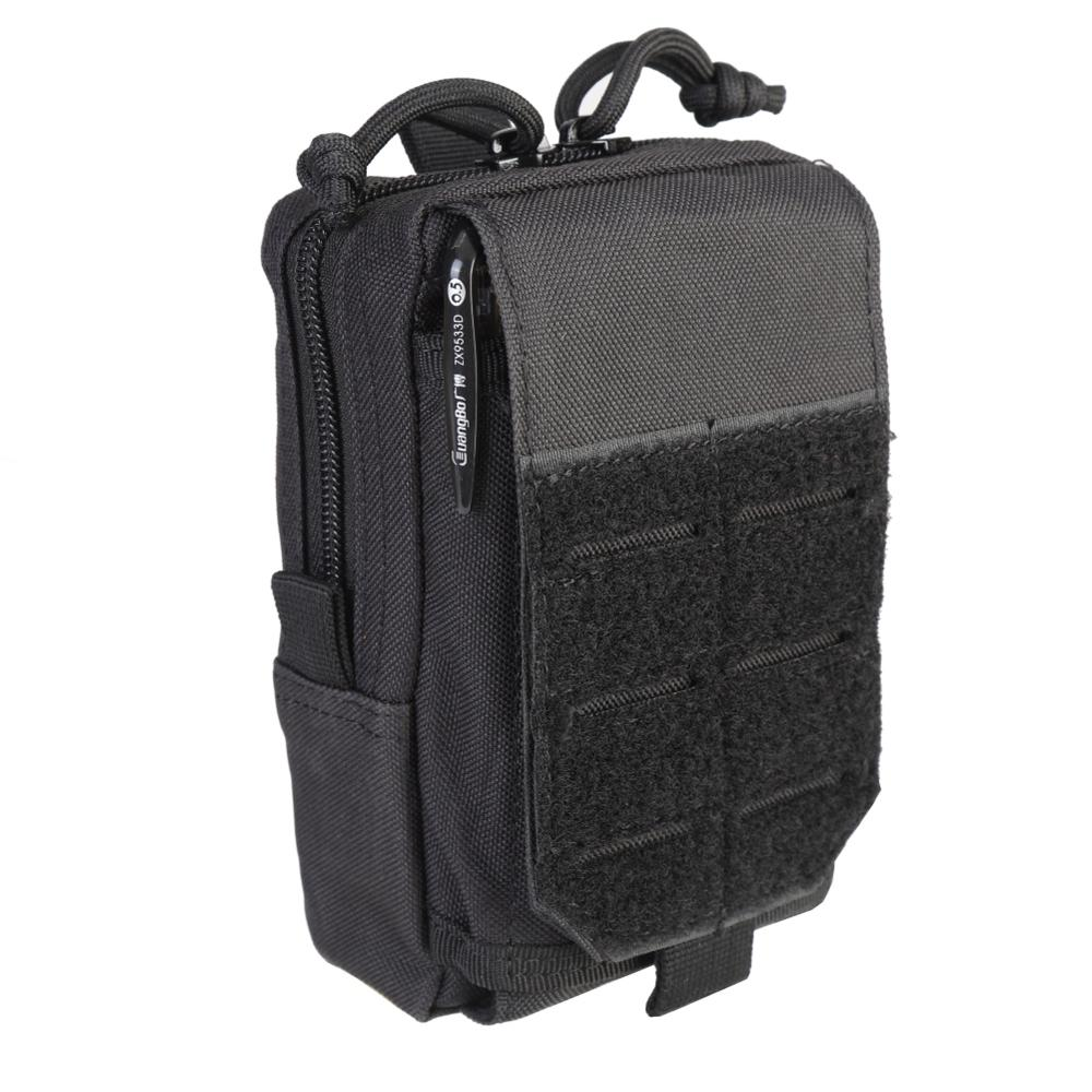 1000D Tactical Molle Nylon Men EDC Tool Pouch Waist Vest Bag Pack Outdoor Mobile Phone Hunting Compact Case Rifle