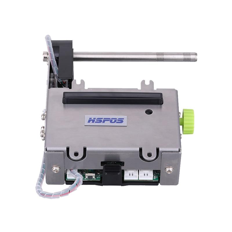 12V auto cut 2 zoll kiosk Thermische Drucker mit Papier in der nähe ende sensor funktion unterstützung Automatische papier laden HS-K24