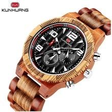 лучшая цена Unique Natural Wood Analog Men Boy Sport Quartz Watches Date Stopwatch Soft Texture Zebra Wooden Belts Strap Outdoor Wristwatch