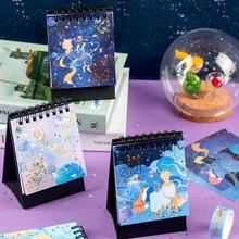 Desktop Planner Double-Calendar Little-Prince Mini Annual Fox-Series