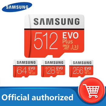 SAMSUNG 32GB Micro SD EVO Plus 64GB karta pamięci Class10 128GB microSDXC U3 UHS-I 256GB karta TF 4K HD na Tablet Smartphone itp tanie i dobre opinie Class 10 Tf micro sd card Grade 10 MicroSDHC U1 Memory Card Flash Card Microsd Card Memory Card 32GB 64GB 128GB 256GB