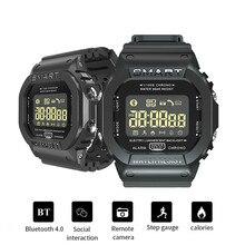 EX16T Смарт-часы для мужчин водонепроницаемые IP67 длительное время ожидания Bluetooth Smartwatch дистанционное управление спортивные шагомер часы 5 ATM наручные часы