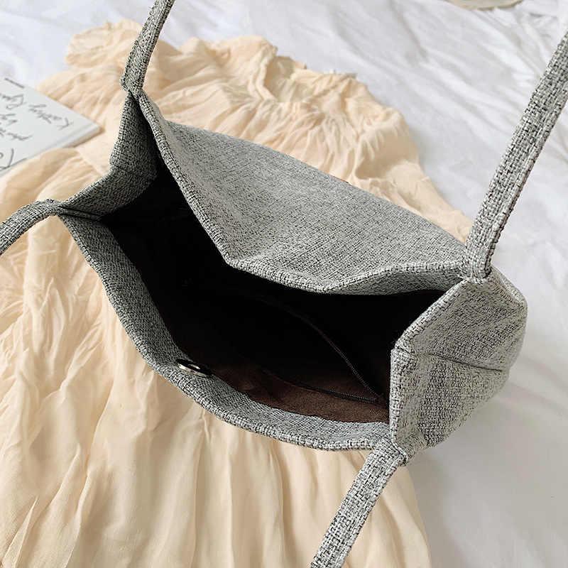 Casul Vlas Patchwork Vrouwen Tas Dames Messenger Bags Outdoor Schoudertas Purse Eenvoudige Sling Tassen Vrouwen Crossbody Tas Tote Bag