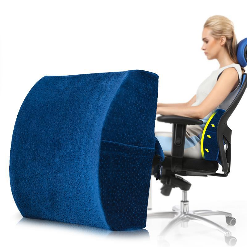Orthopedics Pillow Lumbar Cushion Lumbar Support For Office Chair