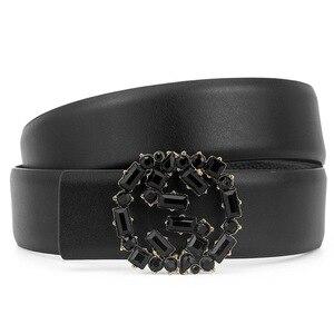 Image 3 - belts for women luxury designer mens belts high quality famous brand pasek damski genuine leather belt men cinturon mujer cinto
