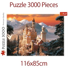 Jigsaw Puzzle 3000 Pieces for Adults Landscape Puzzle Educational Toy for Kids