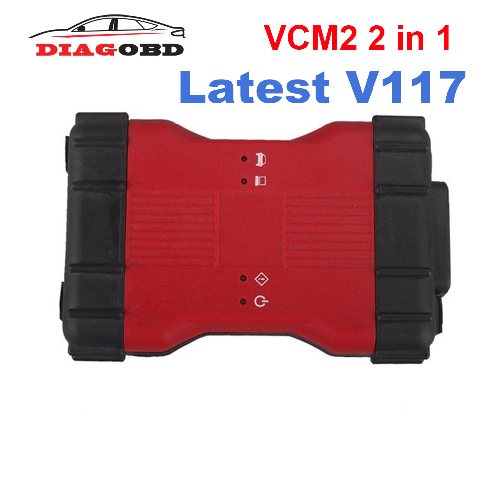 Newest For Ford VCM2 VCM II 2 In 1 Diagnostic Tool For Ford VCM2 IDS V117 And Mazda VCM2 IDS V117