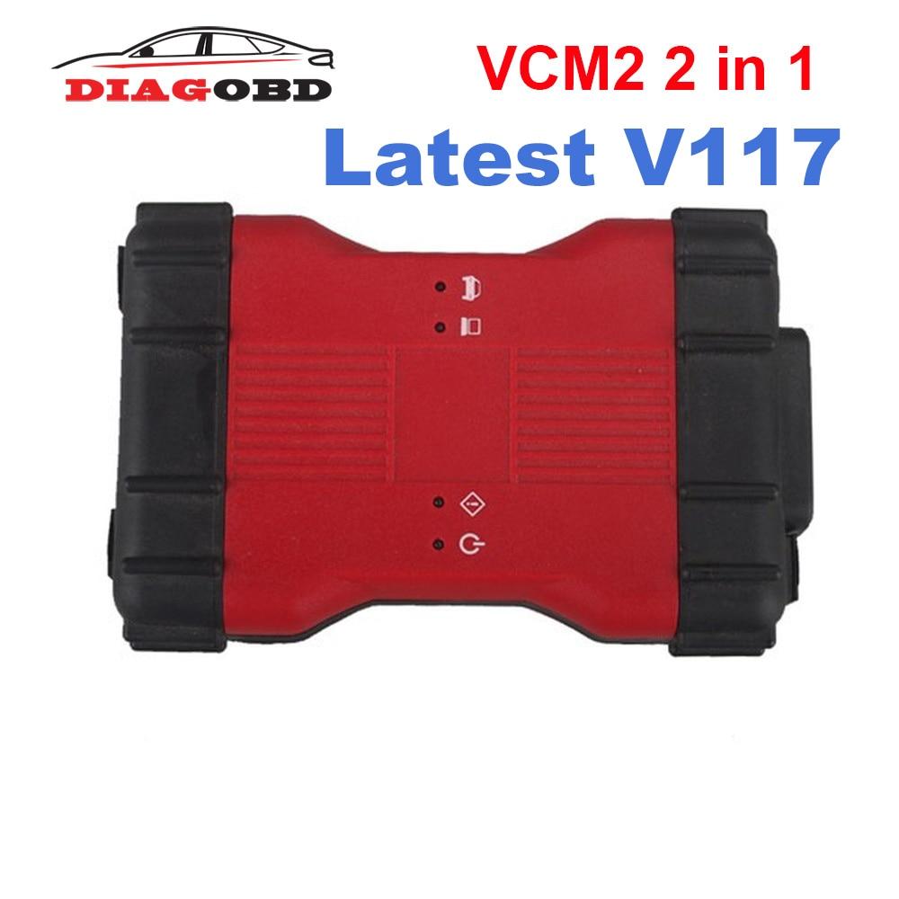 Newest For Ford VCM2 VCM II 2 In 1 Diagnostic Tool For Ford VCM2 IDS V117 And Mazda VCM2 IDS V117