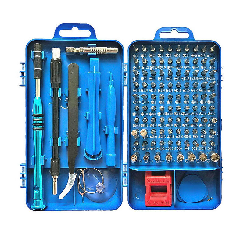 115 In 1 Screwdriver Set Precision Multi function Screwdriver Set for Cell Phone Disassemble Watch Glasses Electrical Tools Kit|Screwdriver| |  - title=