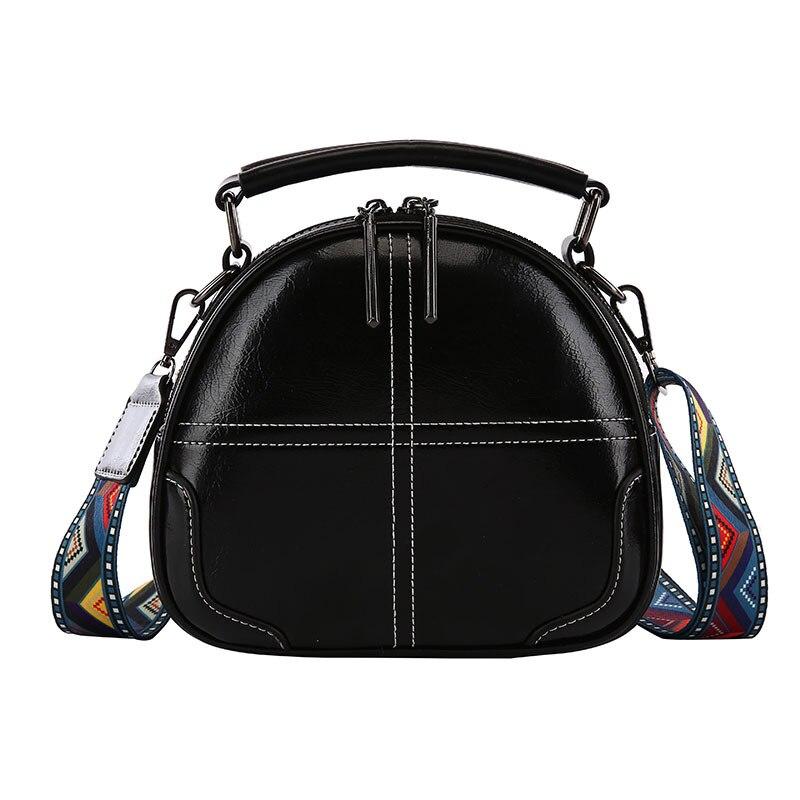 Women Messenger Bags Crossbody Bags for Women Leather Shoulder Bag Colorful Trap Bag Ladies High Quality Handbags Circle Bag