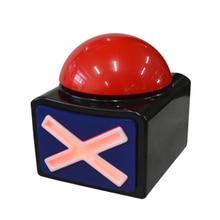 Игра ответ зуммер Кнопка сигнализации со звуком светильник мелочи викторины получили талант FKU66
