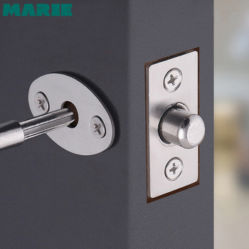 free shipping stainless steel door bolt wood door latch home window hotel security lock household hardware part stainless steel door bolt security guard lever action flush latch 4 inch slide bolt lock for furniture hardware