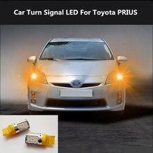 2PCS Car Turn Signal LED Command light headlight modification 12V 10W 6000K  For Toyota PRIUS 2005-2019
