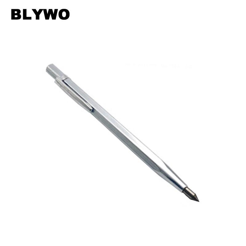 Metal Scriber Cutting Tool Marking Etching Pen Glass Cutter Carbide Scriber Hard for Ceramics Glass Silicon Quartz Metal Sheel