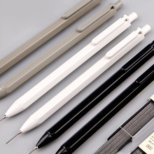 1X Simple Grey Black Style Mechanical Pencil School Supply Student Stationery 0.5mm