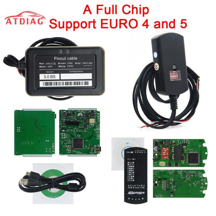 Эмулятор Adblue для грузовика 9 в 1, эмулятор 8 в 1 с датчиком Nox, эмулятор ADBLUE, 8 в 1, 9 в 1, инструмент для диагностики грузовика, бесплатная доставка,...