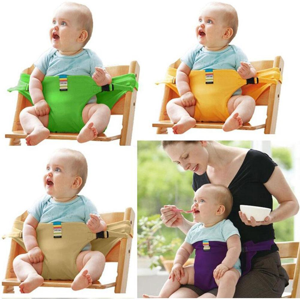None Baby Dining Chair Safety Belt Portable Seat Lunch Chair Seat Stretch Wrap Feeding Chair Harness Baby Booster Seat