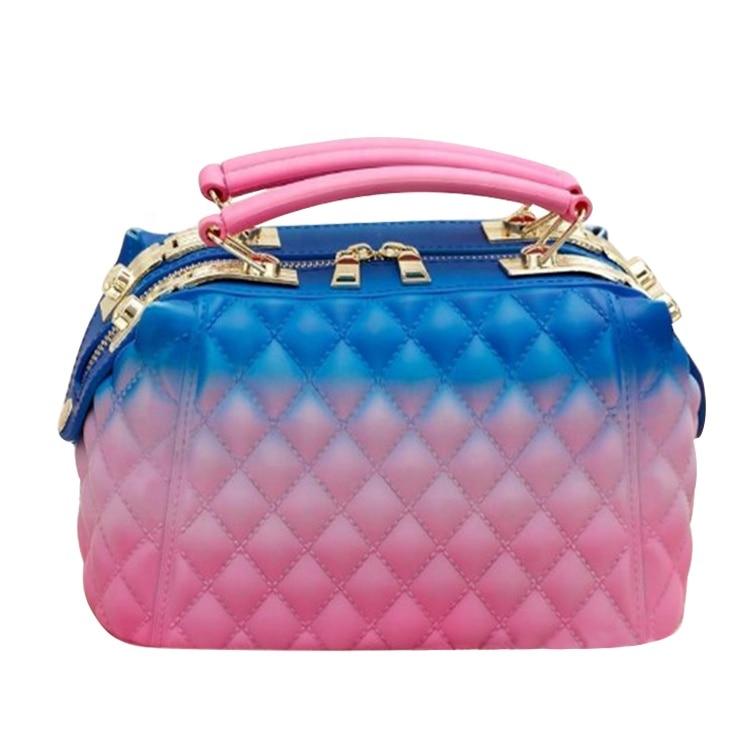 GW PVC Jelly Bag New Design Lady Tote Handbag High Quality