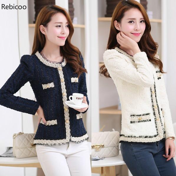 New Blazer Women Paillette Formal Blaser Jacket For Woman Work Wear Plus Size Lady Coat Suits Top Tunic White,black S~XXL