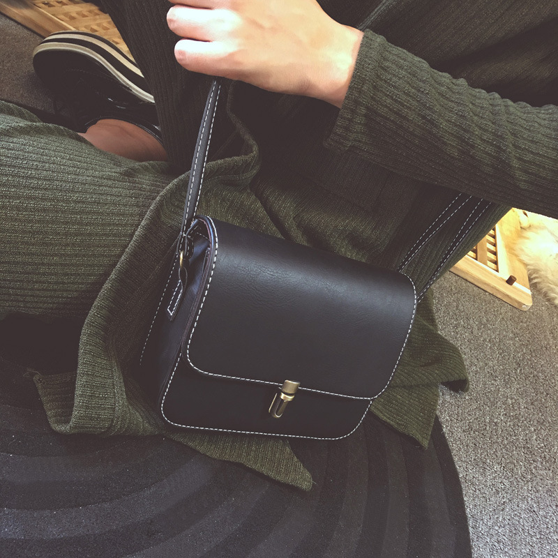 Shell Women Messenger Bags Women Crossbody Bags Satchel Small Square Leather Mini Female Shoulder Bag Mobile Phone Packet Bolsa