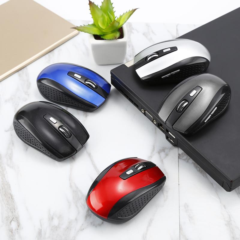 2.4GHz Wireless Cordless Optical Scroll Wheel 1600 Dpi Mouse Mice Ergonomic Mouse For PC Laptop Computer Hot In Sale