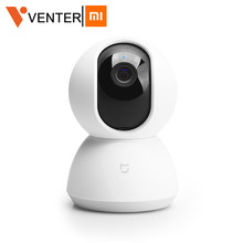 Global Version Xiaomi Mijia Smart Camera Upgraded 1080P HD WiFi Pan Tilt Camera Night Webcam 360 Angle Wireless Mute Camcorder(China)