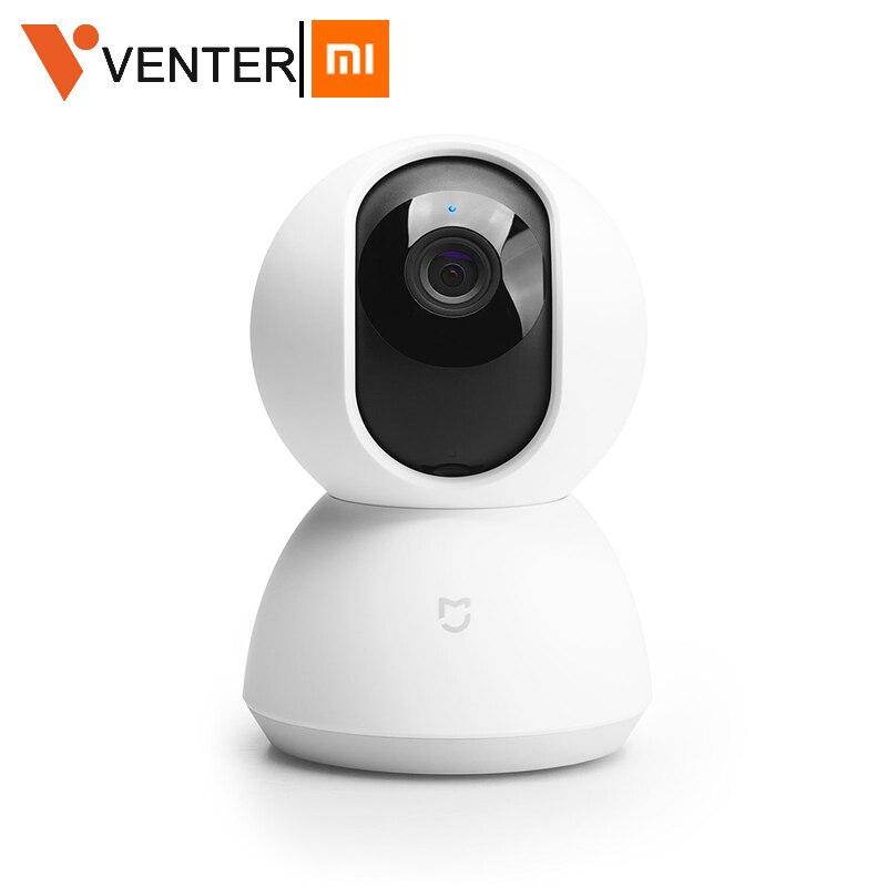 Version mondiale Xiaomi Mijia caméra intelligente mise à niveau 1080P HD WiFi caméra panoramique inclinable Webcam de nuit 360 Angle sans fil muet caméscope