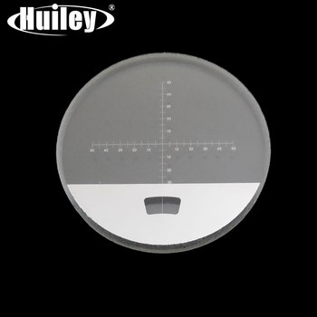 Visor telescopio escala reticular diámetro 22 mm para prismáticos Monocular Rifle alcance DIV = 0,1mm micrometro Slide