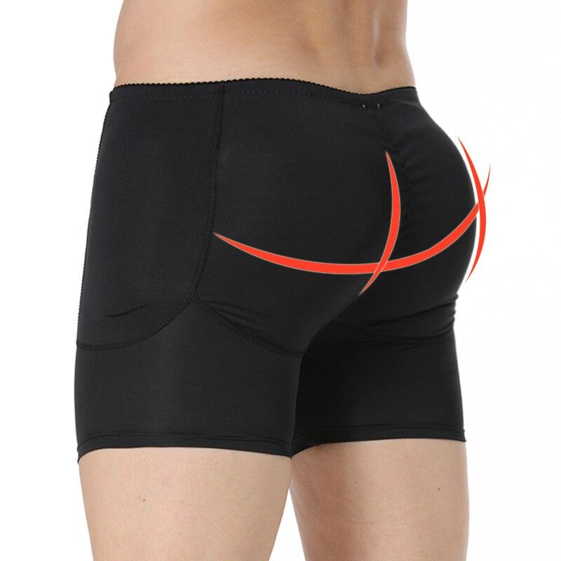 Mens Butt And Hip Enhancer Booty Padded Underwear Panties Body Shaper Seamless Butt Lifter Panty Boyshorts Shapewear Boxers
