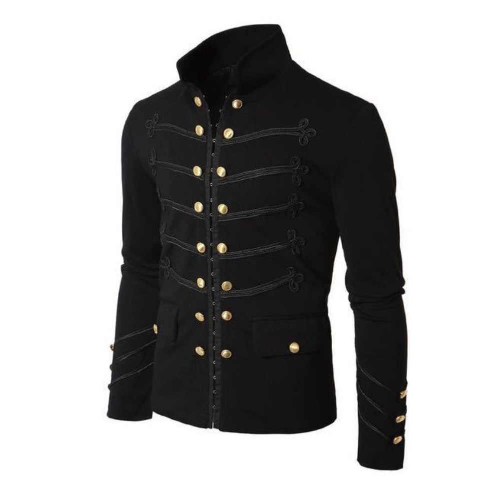 따뜻한 캐주얼 남자 솔리드 컬러 스웨터 카디건은 칼라 포켓 롱 자켓 코트를 거절